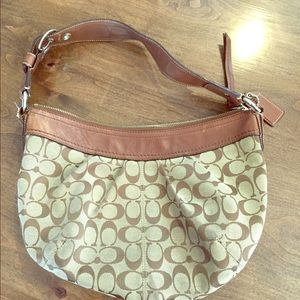 Original Coach Patterned Purse